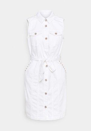 CRBINKA DRESS - Vestido camisero - snow white