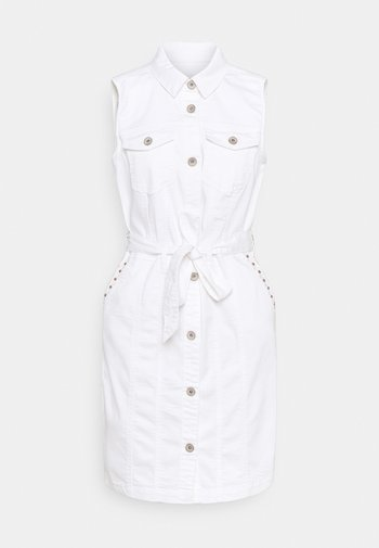 CRBINKA DRESS - Shirt dress - snow white