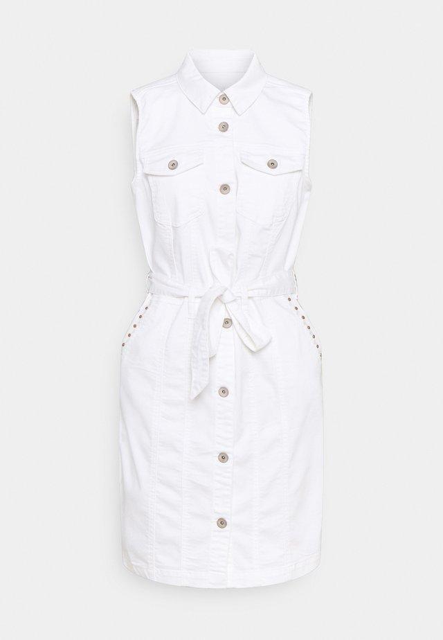 CRBINKA DRESS - Blousejurk - snow white