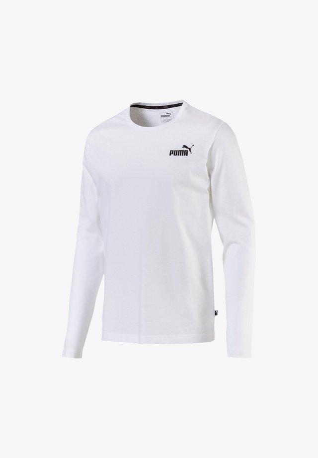 LOGO TEE - Long sleeved top - weiß