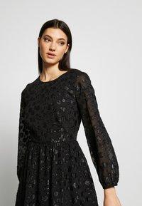 J.CREW - LANA LEOPARD DRESS - Koktejlové šaty/ šaty na párty - black - 4