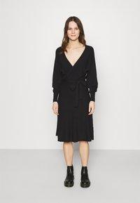 Zign - Jumper dress - black - 0