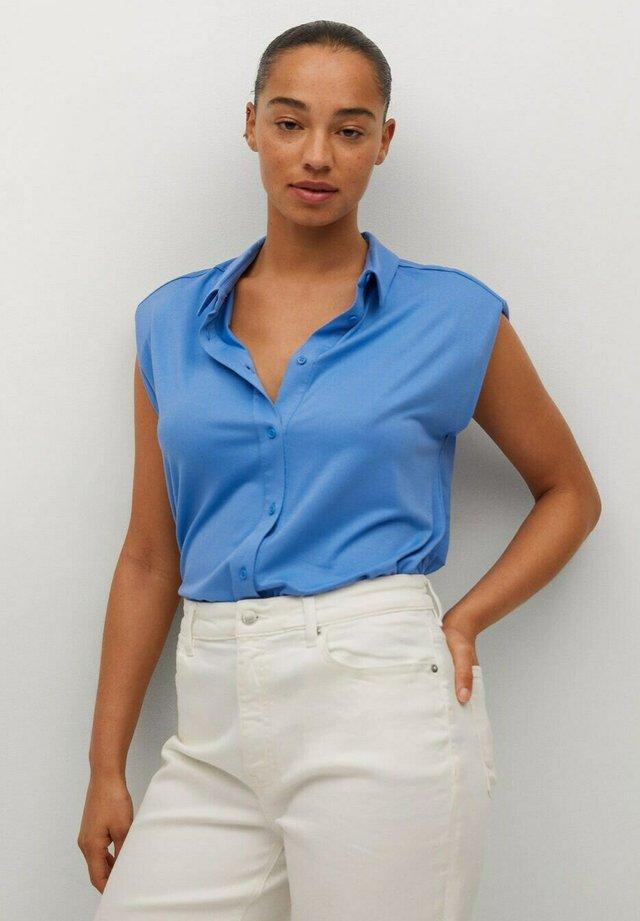 Overhemdblouse - bleu