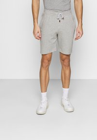 INDICODE JEANS - EXCLUSIVE 2 PACK - Shorts - black/light grey - 3