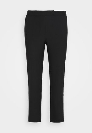 ESSENTIAL STRAIGHT LEG - Pantalon classique - black