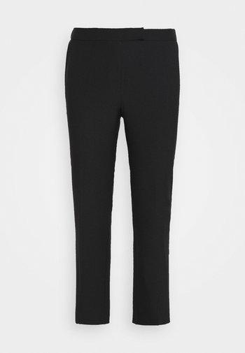 ESSENTIAL STRAIGHT LEG - Pantaloni - black
