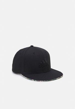 FLATBRIM - Cap - black