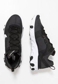 Nike Sportswear - REACT 55 - Sneakers - black/white - 5