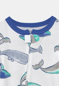 Carter's - WHALE - Pyjamas - white/blue - 2