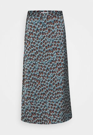 CLAIRE SKIRT - Bleistiftrock - dusty blue/taupe