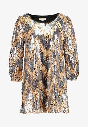 MULTI SEQUIN DRESS - Cocktailkjoler / festkjoler - silver