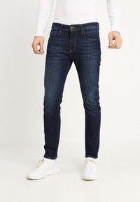 Petrol Industries - THRUXTON - Jeans fuselé - dark-blue denim - 0