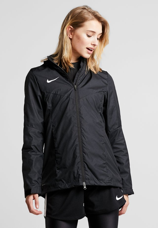 ACADEMY - Hardshell jacket - black/white