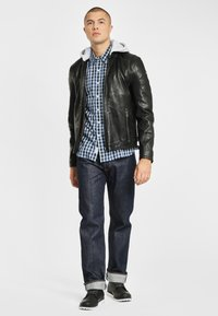Gipsy - RYLO LAKEV - Leather jacket - black - 1
