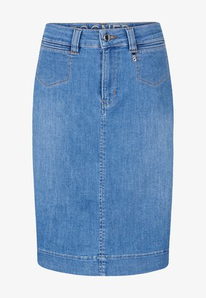 Spódnica ołówkowa  - denim-blau