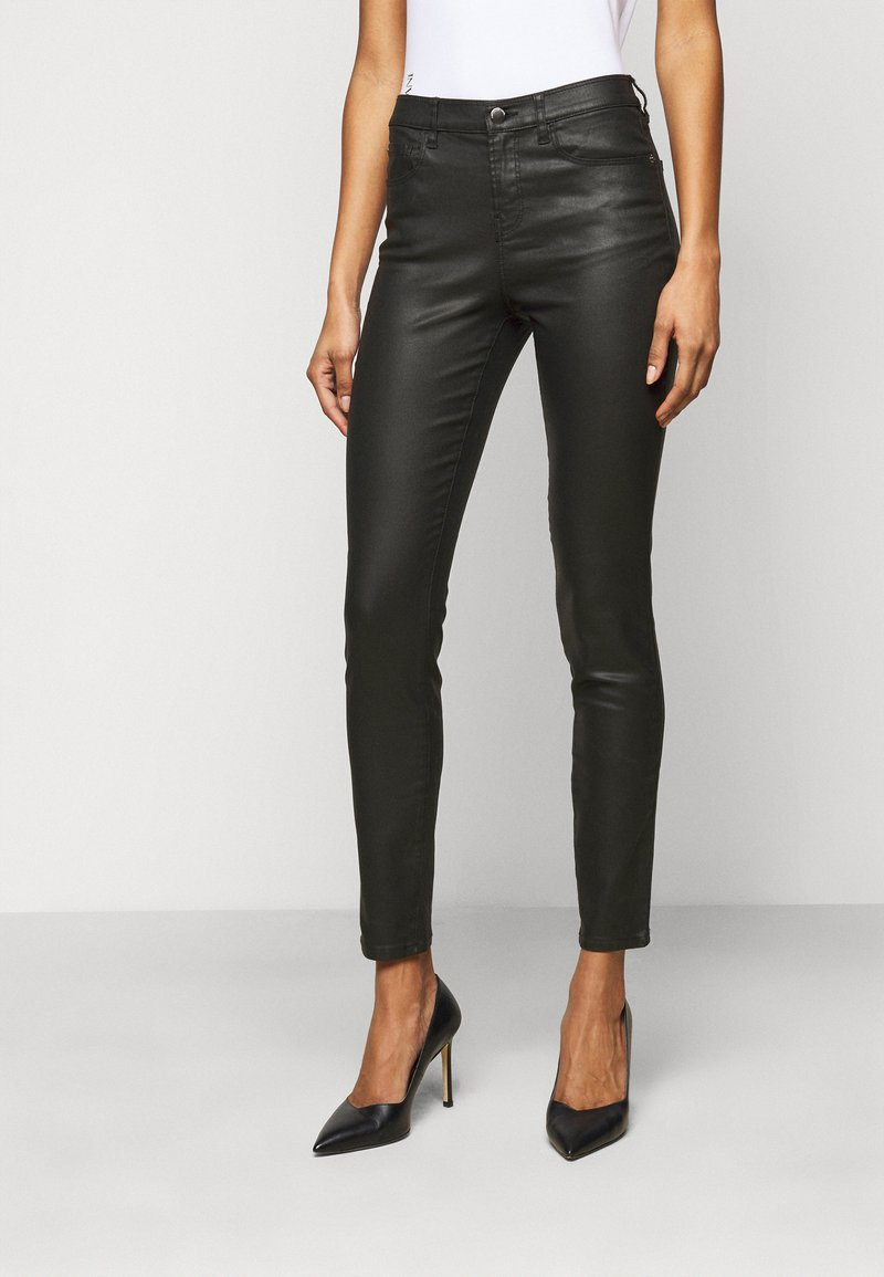 Emporio Armani - Trousers - black