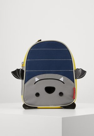 ZOO LUNCHIES BAT - Bolso de mano - blue/grey