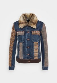 Desigual - CHAQ ALMU - Jeansjacke - denim light - 4