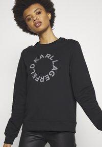 KARL LAGERFELD - CIRCLE LOGO - Sweatshirt - black - 4