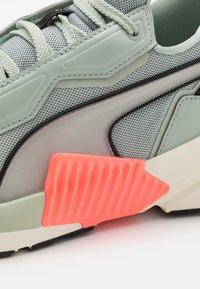 Puma - PROVOKE XT PEARL - Sports shoes - aqua gray/marshmallow/nrgy peach - 5
