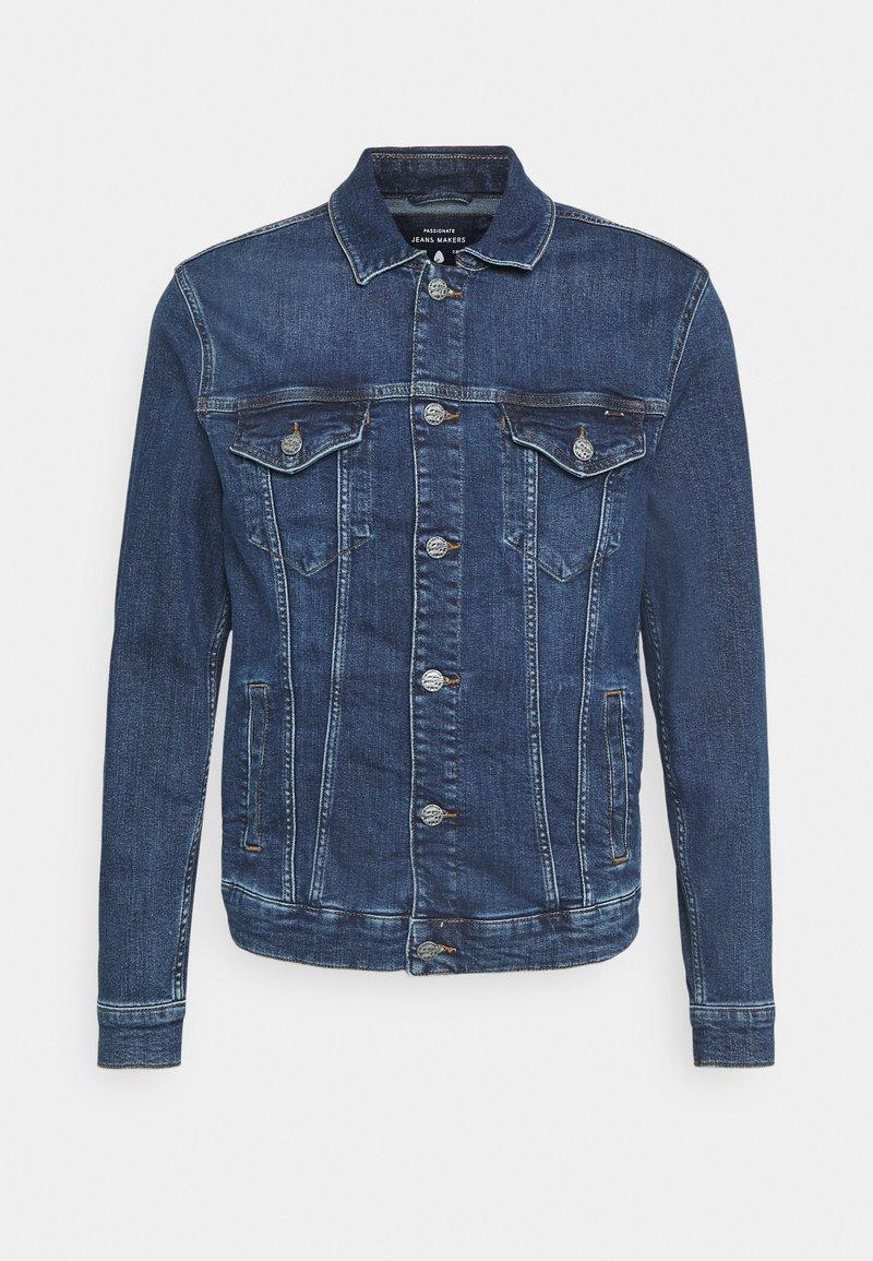 Only & Sons - ONSCOIN LIFE TRUCKER  - Denim jacket - blue denim