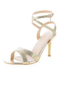 PRIMA MODA - CERSUTA - Korolliset sandaalit - platinum - 1