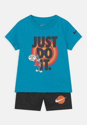 SET UNISEX - T-shirt print - blue