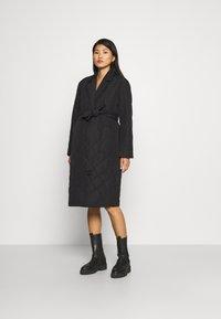 ONLY - OLMTRILLION LONG COATIGAN - Classic coat - black - 0