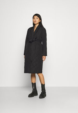 OLMTRILLION LONG COATIGAN - Klasický kabát - black