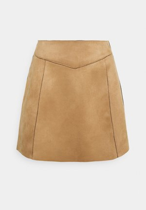 ONLLINUS - Mini skirt - toasted coconut