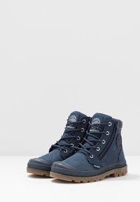 Palladium - HI CUFF WP - Šněrovací kotníkové boty - mood indigo - 3