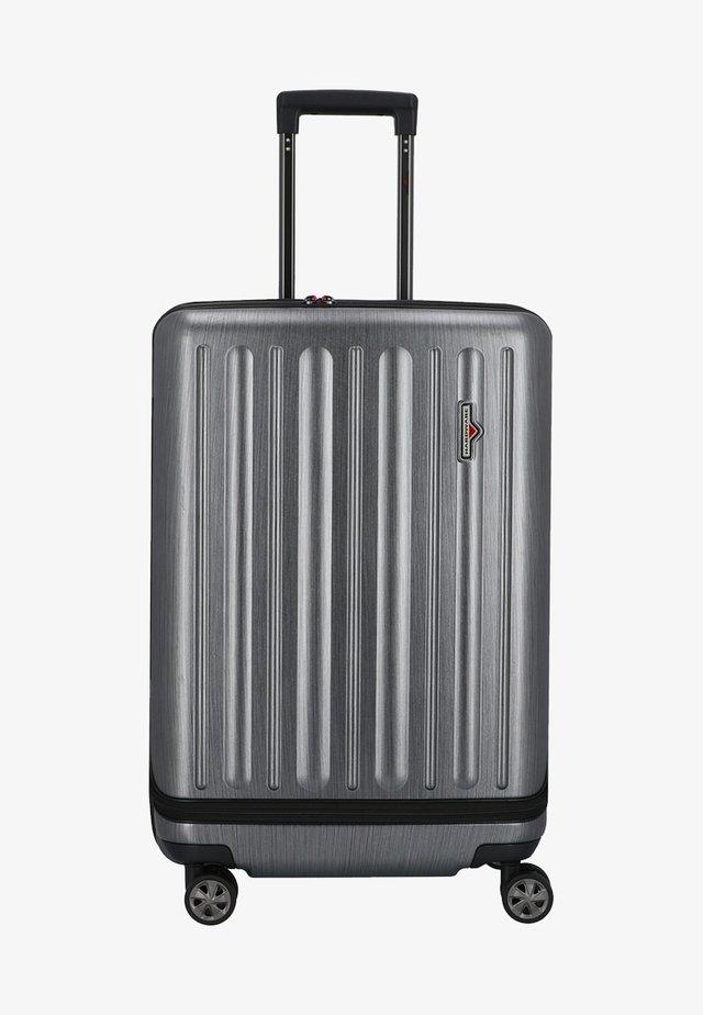 PROFILE PLUS - Wheeled suitcase - grey brushed