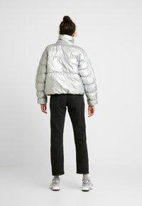 Nike Sportswear - FILL SHINE - Winter jacket - metallic silver/black - 2