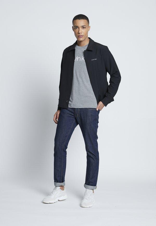 Calvin Klein FRONT LOGO 2 PACK - T-shirt z nadrukiem - multi/czarny Odzież Męska ADBS
