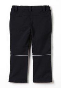TrollKids - KIDS FJELL PANT - Długie spodnie trekkingowe - black - 1