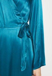 Cortefiel - WRAP LONG DRESS - Iltapuku - medium blue - 5