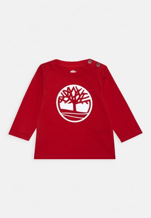 LONG SLEEVE BABY - Long sleeved top - bright red