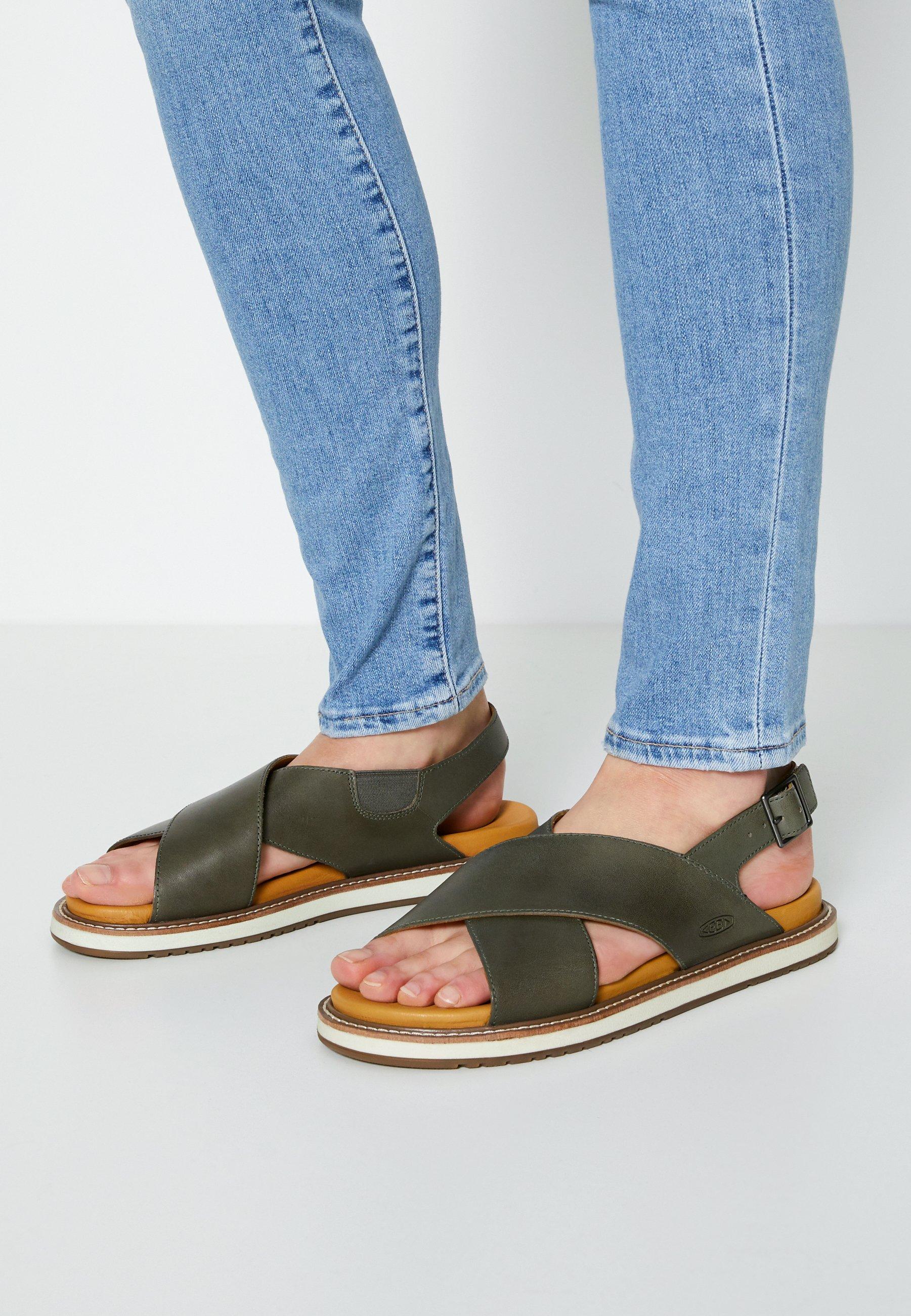 Women LANA CROSS STRAP - Walking sandals
