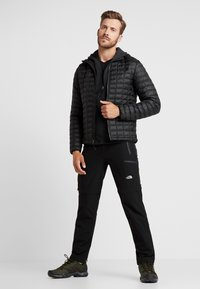 The North Face - GORDON LYONS HOODIE - Veste polaire - black heather - 1