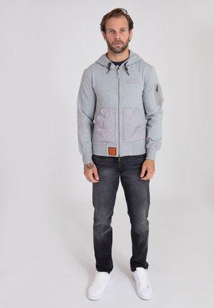 RANGER - Zip-up hoodie - grey