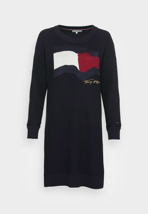 MOTION FLAG KNEE DRESS - Jumper dress - blue