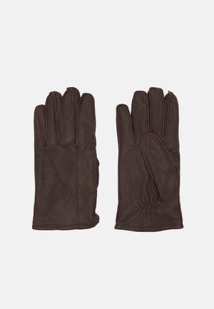 Gloves - braundy