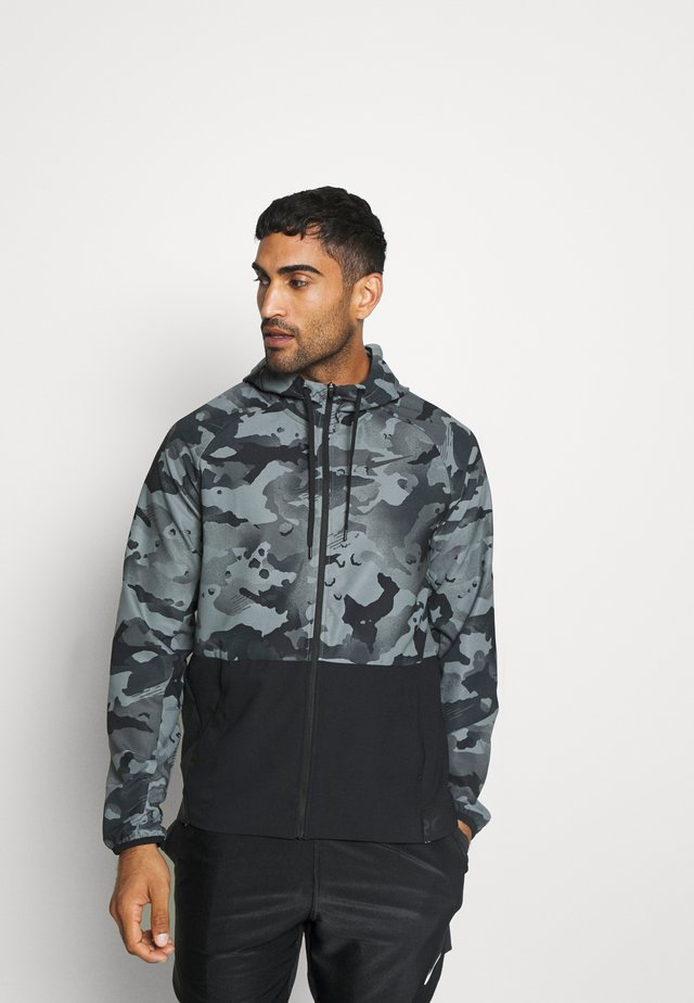 Giacca outdoor - black/grey fog