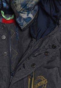 s.Oliver - MANTEL - Zimní kabát - dark blue melange - 4