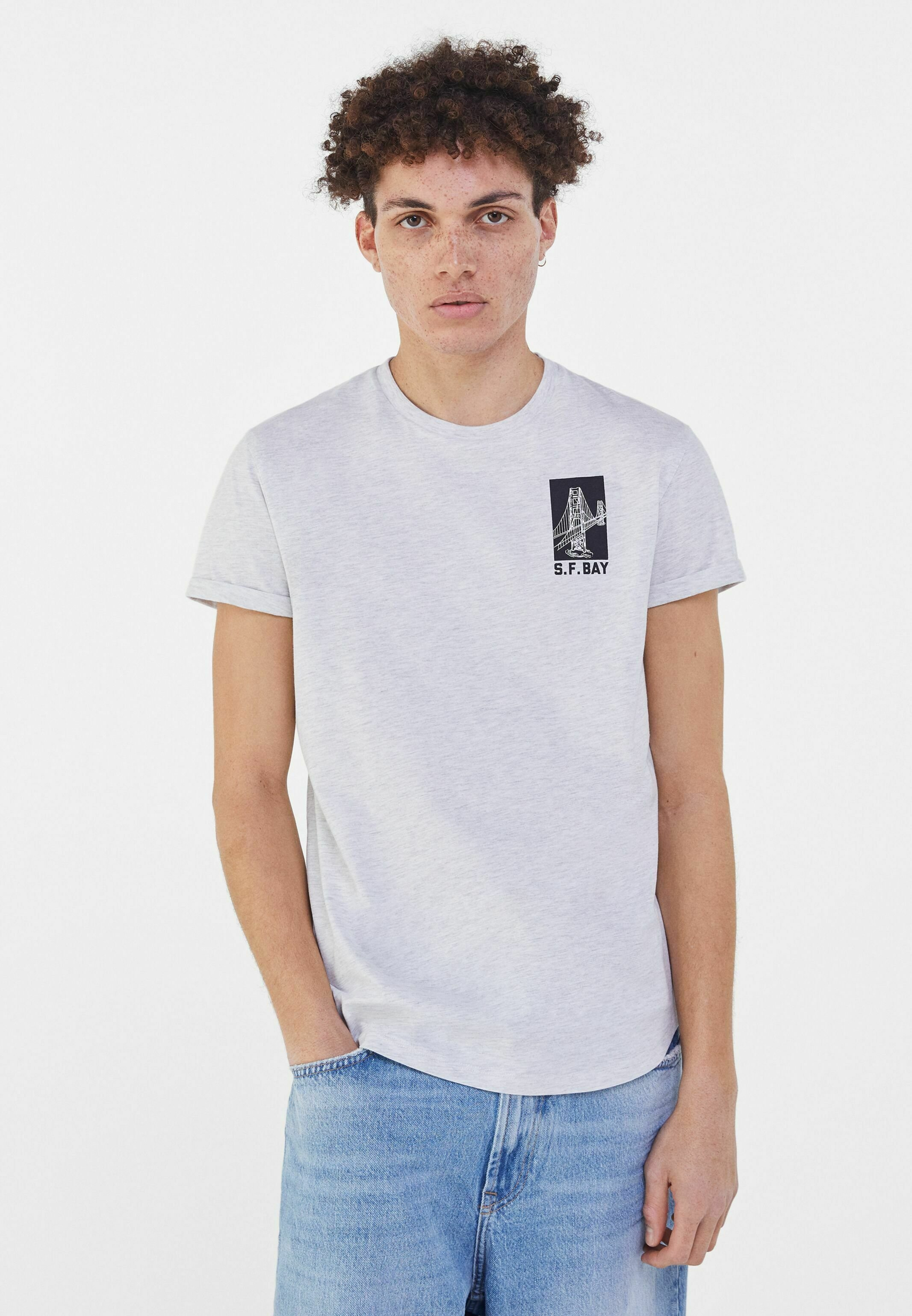 Uomo MUSCLE - T-shirt con stampa