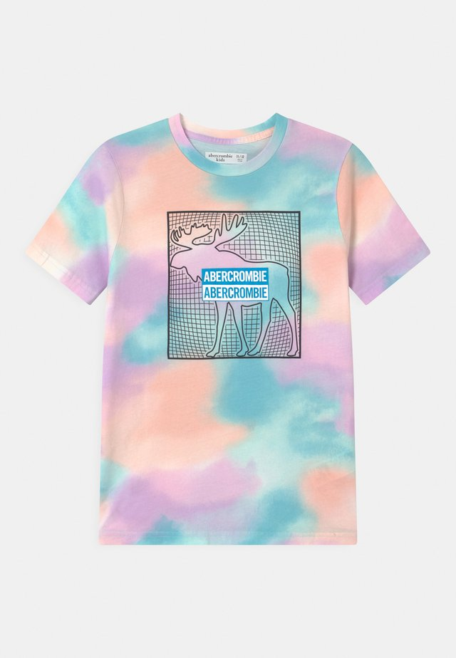 PRINT LOGO DYE - T-shirt med print - blue