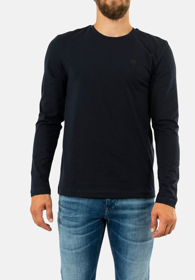 T-shirt à manches longues - bleu