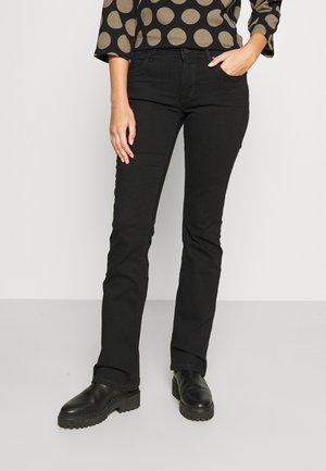 NELLA - Džíny Slim Fit - multi/worn out black