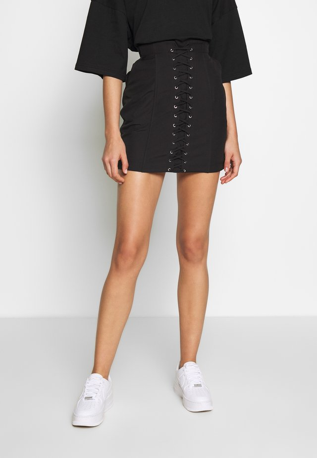 HARLI SKIRT - Pencil skirt - black