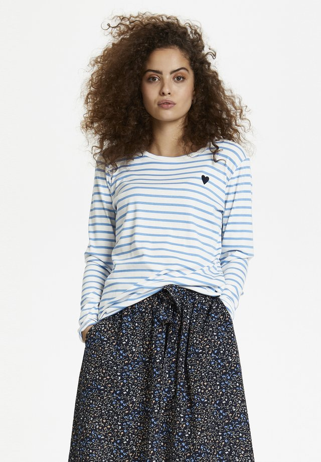 LIDDY - Long sleeved top - blue